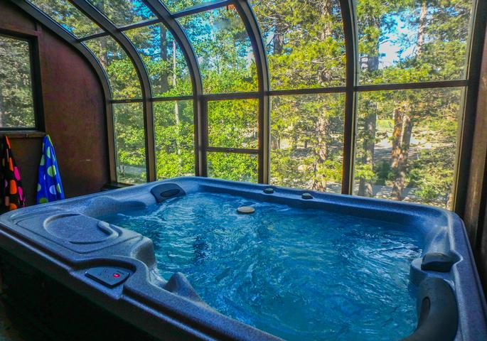 #212 - Wooded Setting and Indoor Jacuzzi -